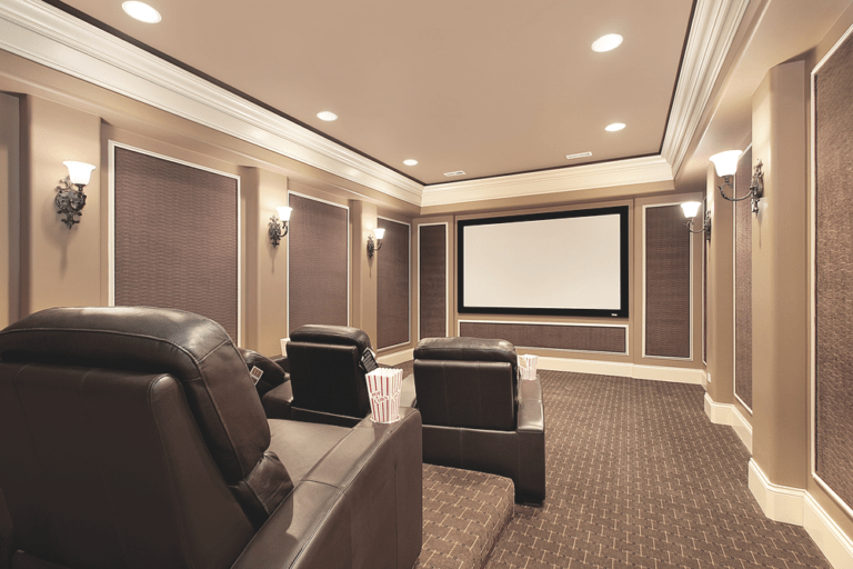 Picture of Home Theater Seating Options