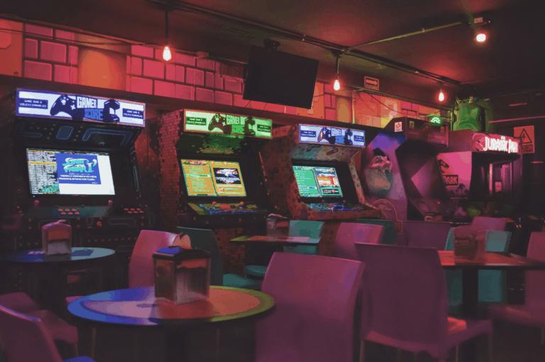 Photo of Arcade Machines