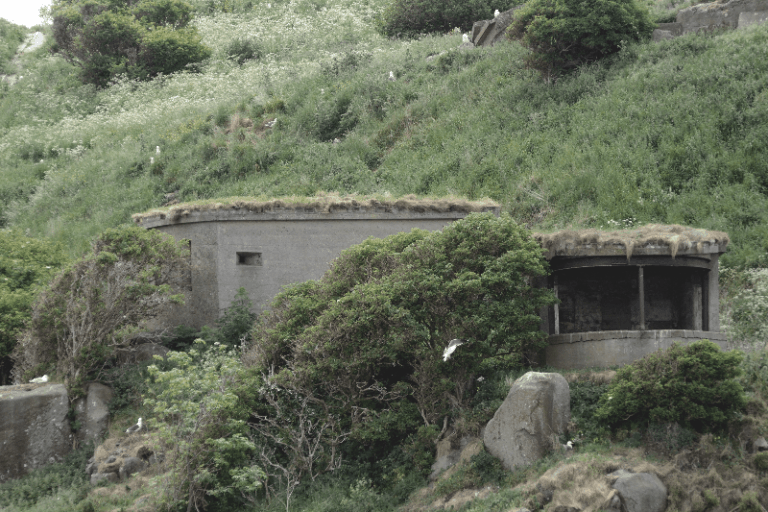 Former Fort Serving as A Paradise